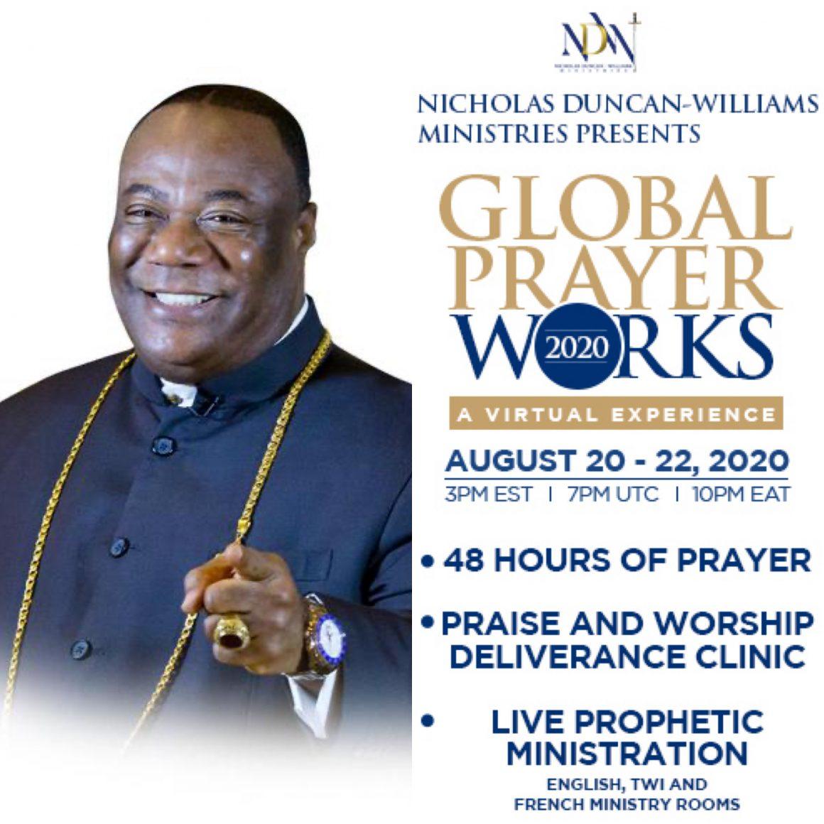 duncan-williams-ministries-set-to-host-'global-prayer-works'-virtual-summit