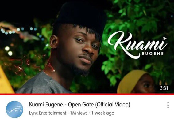 kuami-eugene's-'open-gate'-music-video-hits-1-million-views-in-a-week!