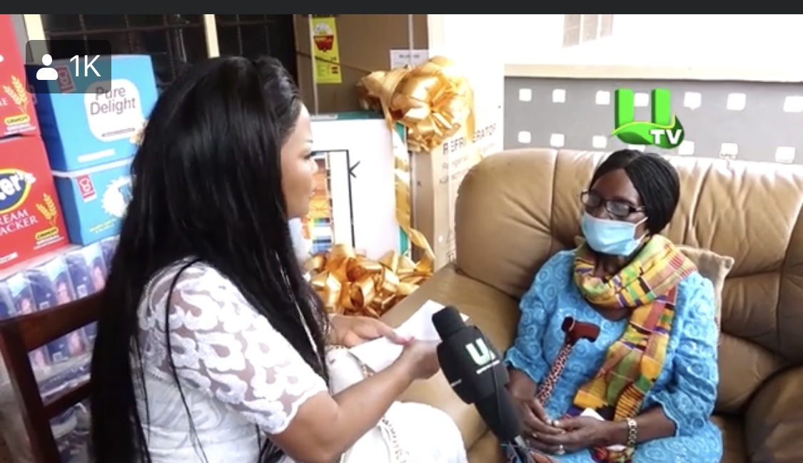 nana-ama-mcbrown-donates-$2000-and-provisions-to-veteran-actress-grace-nortey-as-part-of-her-birthday-celebrations