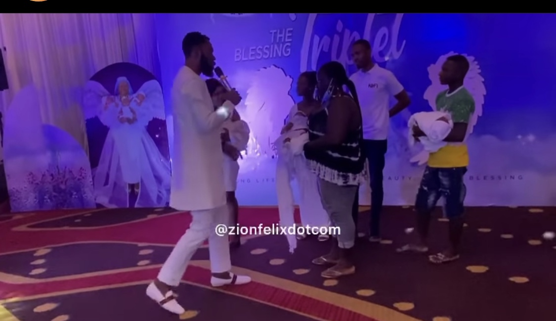 watch:-rev-obofour-gifts-a-house-and-car-to-needy-couple-who-have-also-welcomed-triplets