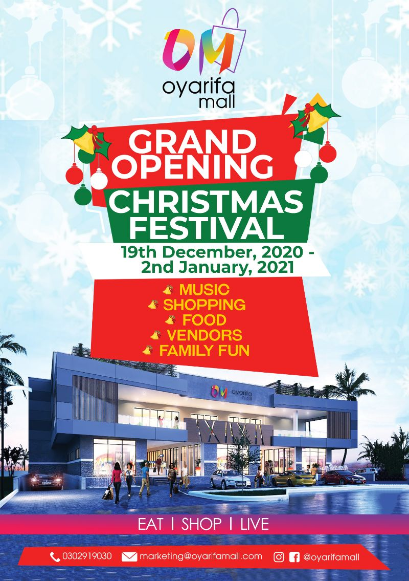 oyarifa-mall-–-accra's-newest-shopping-retail-center-to-celebrate-grand-opening-and-holiday-festival