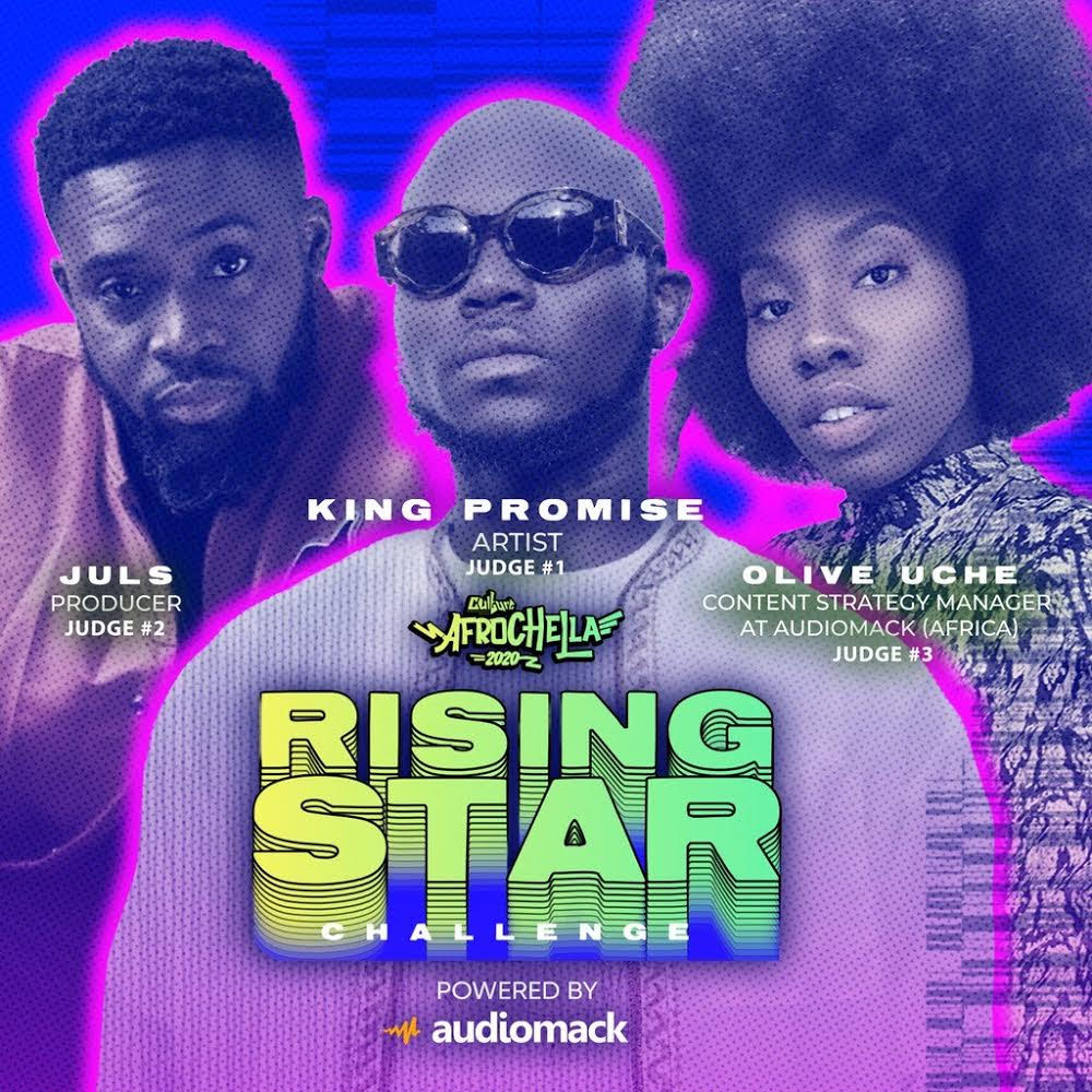 audiomack,afrochella-rising-star-challenge:-how-upcoming-artists-can-sign-up