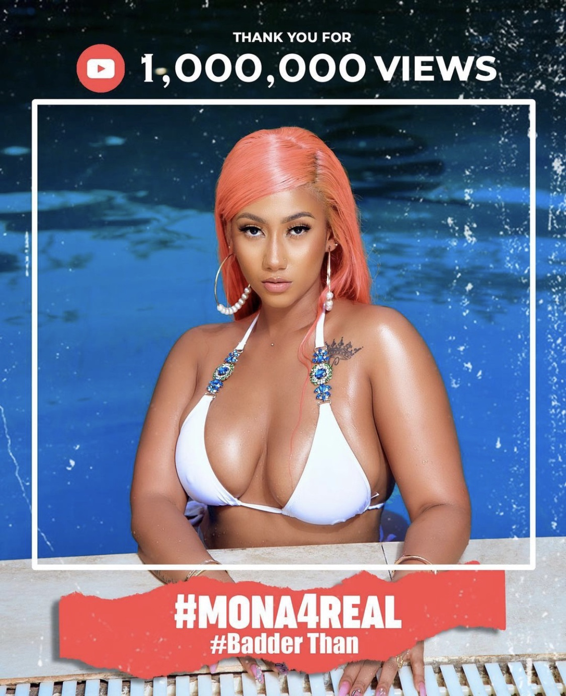 one-month-later,-hajia-4-real's-'badder-than'-hits-1-milli-views-on-youtube