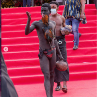 photos:-rich-traditions-on-display-as-'papa-j'-goes-home-today