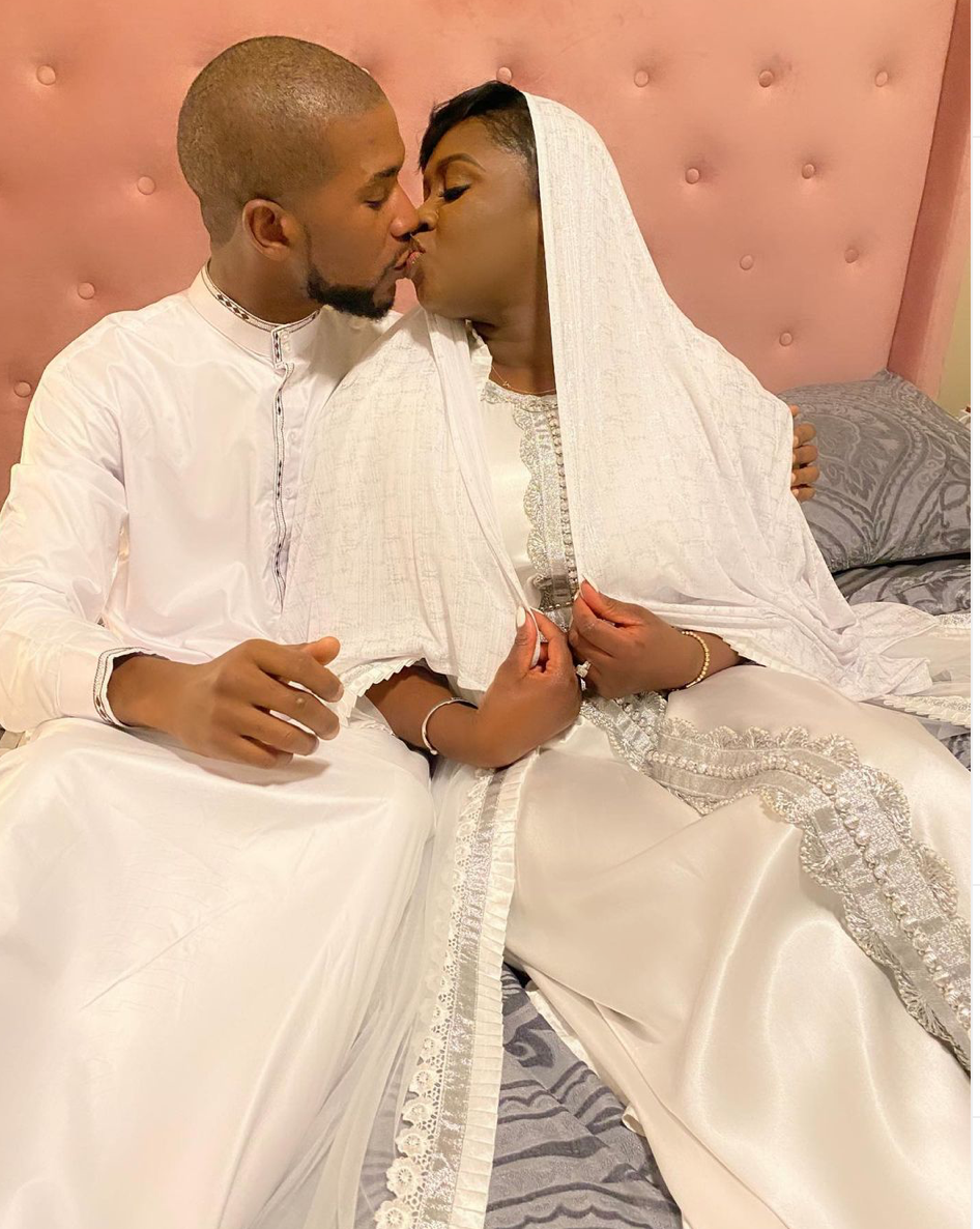 watch:-princess-shyngle-is-finally-a-wife-and-she-can't-hide-her-excitement