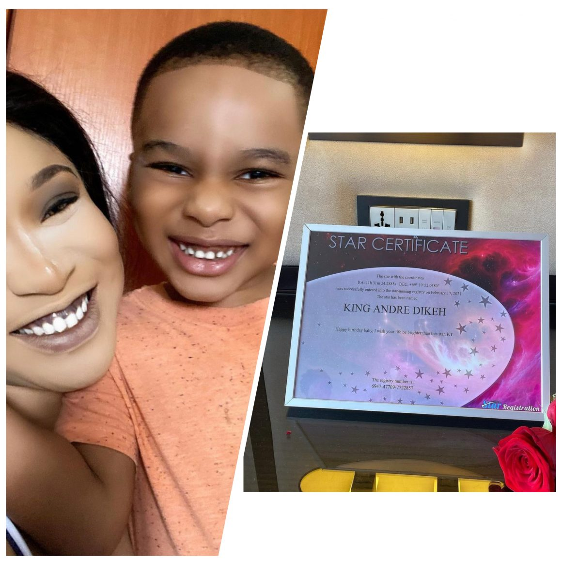 tonto-dikeh-purchases-a-real-life-star-up-in-the-sky-for-son-on-his-5th-birthday
