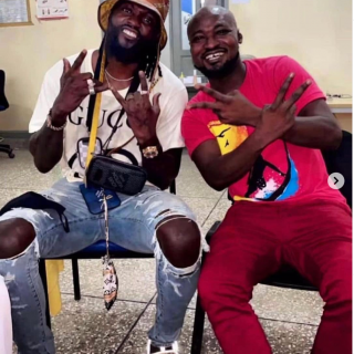 """watch:-""""bromance""""-rekindled-as-adebayor-pays-funny-face-a-visit-at-the-hospital"""