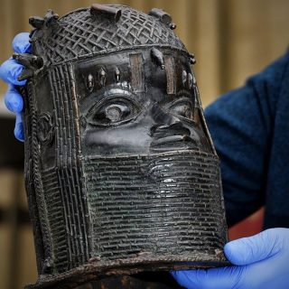 photos:-uk-university-to-return-stolen-benin-bronze-to-nigeria