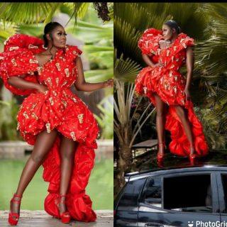 vgma22:-the-red-carpet-queen,-nana-akua-addo-fails-to-impress