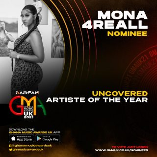ghana-music-awards-uk-nominates-mona4reall-as-an-uncovered-artist