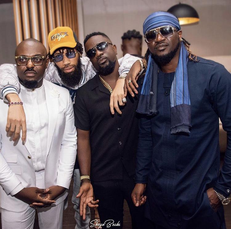 photos:-top-nigerian-celebs-attend-sarkodie's-'no-pressure'-album-listening-in-lagos
